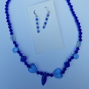 Jewelry - Handmade beaded necklace/earring set